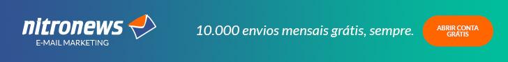 Nitro News - Email Marketing. 10000 envios mensais grátis, sempre